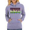 Sound Activated Flashing Light Womens Hoodie