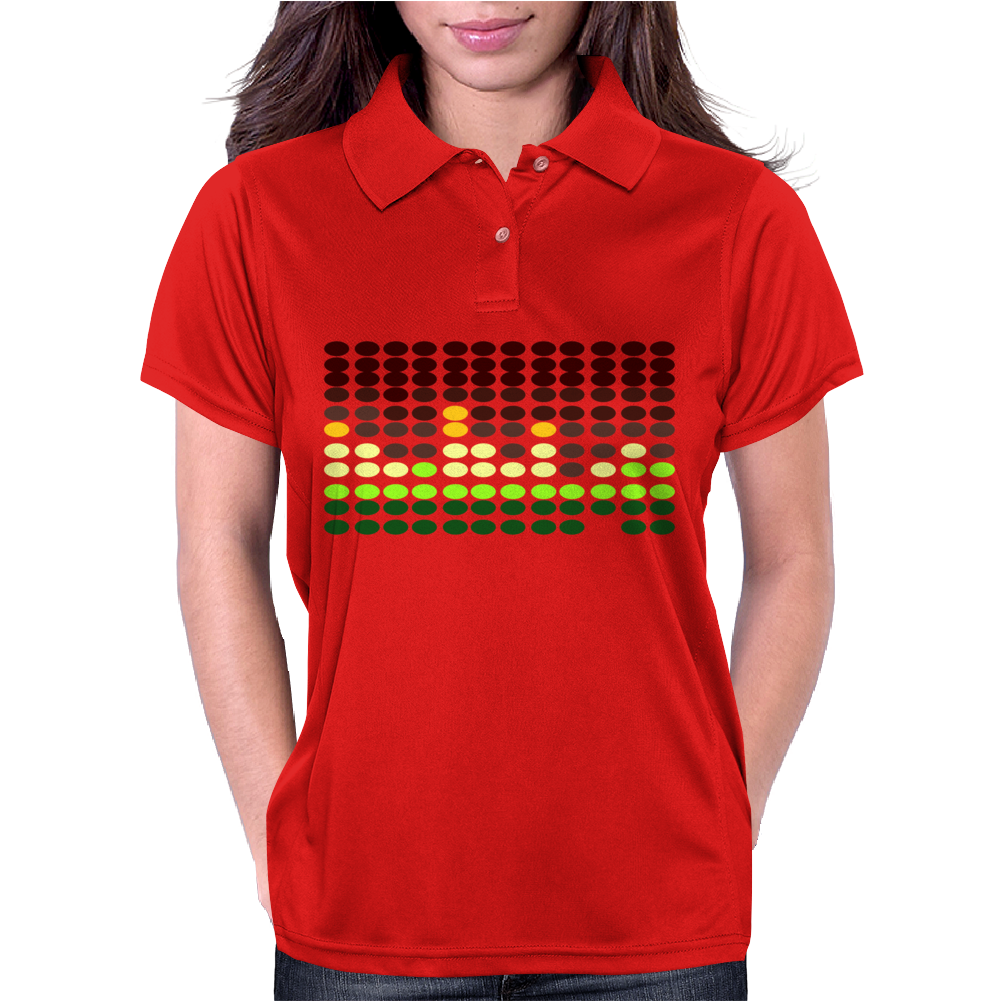 Sound Activated Flashing Light Womens Polo