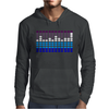 Sound Activated LED EL Mens Hoodie