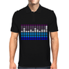 Sound Activated LED EL Mens Polo