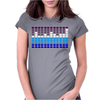 Sound Activated LED EL Womens Fitted T-Shirt