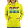 Sound Activated LED EL Womens Hoodie