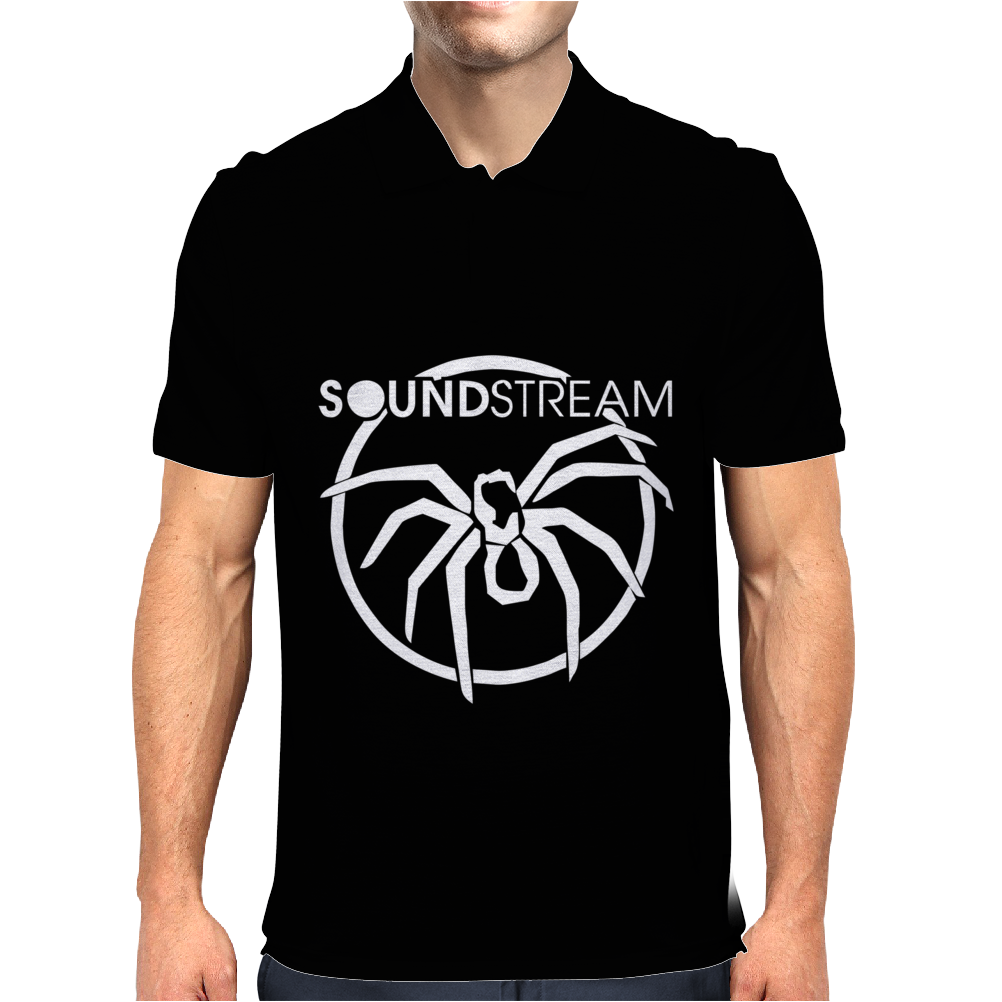 Soundstream Bass Junkie Lover Car Audio Mens Polo