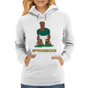 South Africa Rugby 2nd Row Forward World Cup Womens Hoodie