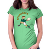 South Africa Rugby Back World Cup Womens Fitted T-Shirt