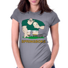 South Africa Rugby Forward World Cup Womens Fitted T-Shirt