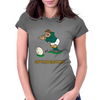South Africa Rugby Kicker World Cup Womens Fitted T-Shirt