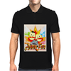 South Park Terrance And Phillip Asses Of Fire Mens Polo