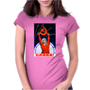 Soviet Space Astronaut Propaganda Poster Womens Fitted T-Shirt