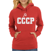 Soviet Union Russia CCCP Football Soccer National Team Womens Hoodie