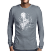 Space Attack Mens Long Sleeve T-Shirt