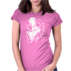 Space Attack Womens Fitted T-Shirt