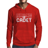 Space Cadet Space Ship Mens Hoodie