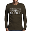 Space Cadet Space Ship Mens Long Sleeve T-Shirt
