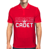 Space Cadet Space Ship Mens Polo
