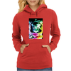 Space Cat Astronaut Womens Hoodie