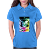 Space Cat Astronaut Womens Polo