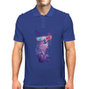 SPACE CAT IN 3D Mens Polo