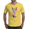 SPACE CAT IN 3D Mens T-Shirt