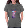 SPACE CAT IN 3D Womens Polo