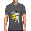 Space Ghost Cartoon Mens Polo
