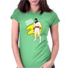 Space Ghost Cartoon Womens Fitted T-Shirt