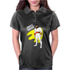 Space Ghost Cartoon Womens Polo