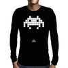 Space Invader Mens Long Sleeve T-Shirt