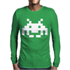 Space Invaders Mens Long Sleeve T-Shirt