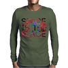SPACE IS THE PLACE Mens Long Sleeve T-Shirt
