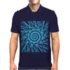 Space-Swirl Mens Polo