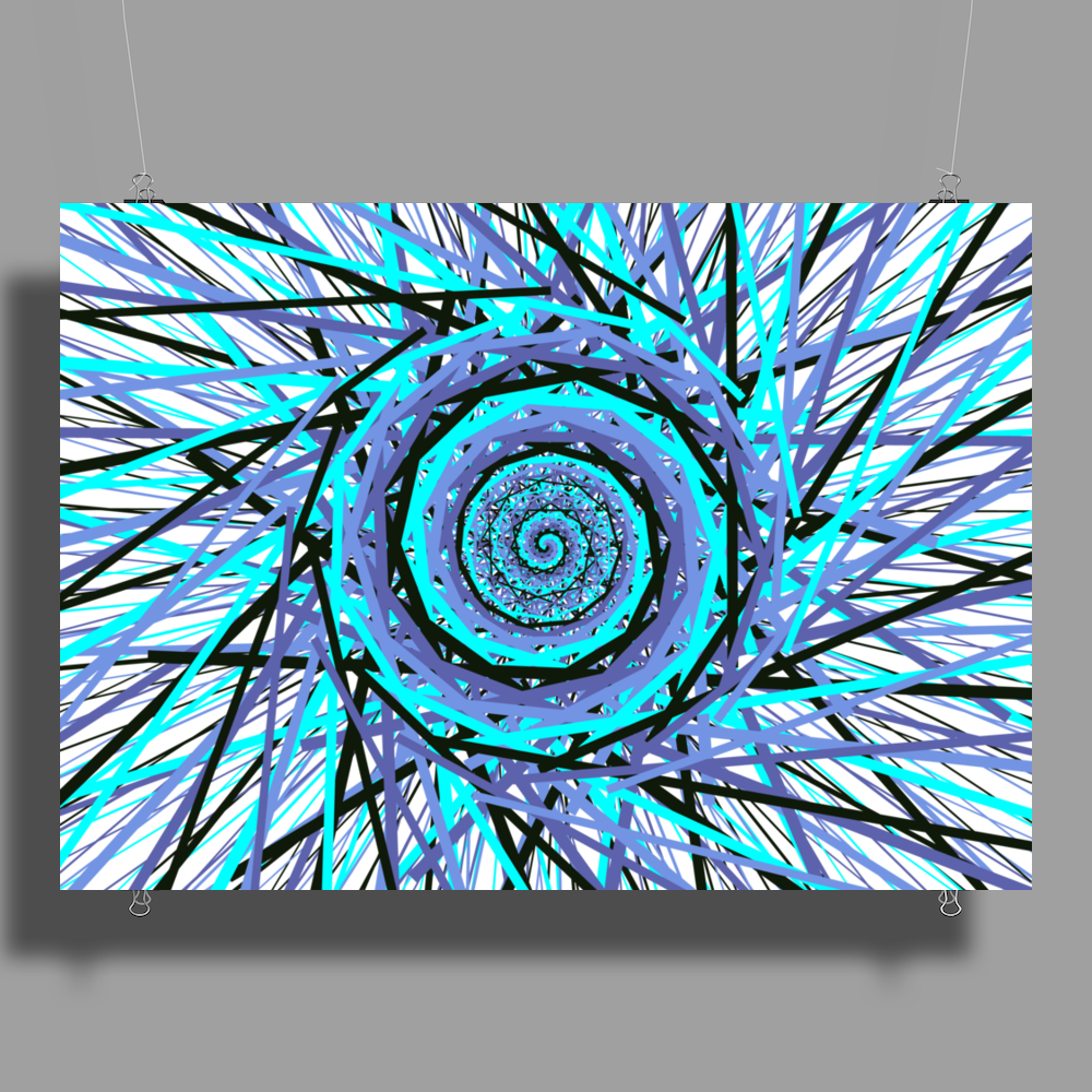Space-Swirl Poster Print (Landscape)