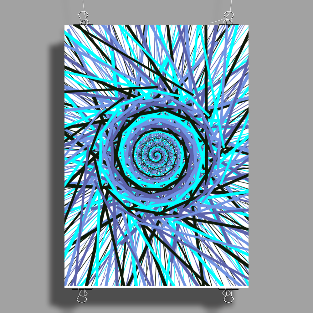 Space-Swirl Poster Print (Portrait)