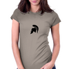 Spartan Helmet Womens Fitted T-Shirt