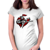 spartan IV Womens Fitted T-Shirt