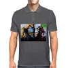 Spawn vs Superhero Comic Mens Polo