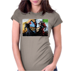 Spawn vs Superhero Comic Womens Fitted T-Shirt