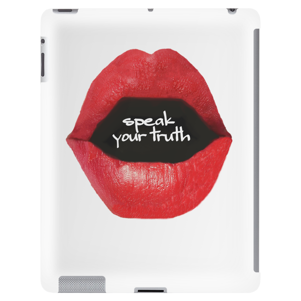speak your truth _white Tablet (vertical)