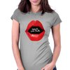 speak your truth _white Womens Fitted T-Shirt