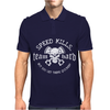 Speed Kills But Get There Quicker Mens Polo