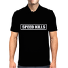 SPEED KILLS Mens Polo