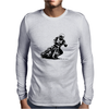 Speedway Racer Mens Long Sleeve T-Shirt