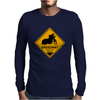 Speedway road sign Mens Long Sleeve T-Shirt