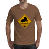 Speedway road sign Mens T-Shirt