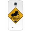 Speedway road sign Phone Case