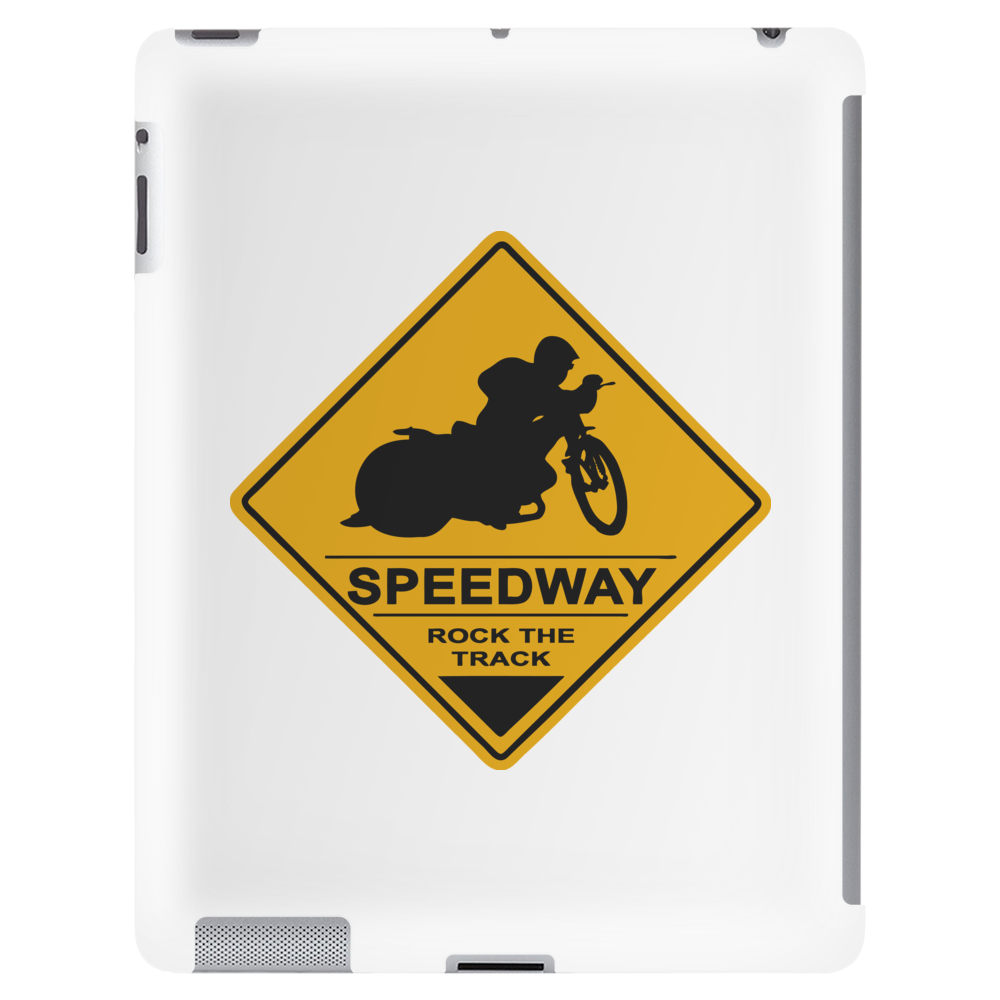 Speedway road sign Tablet