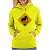 Speedway road sign Womens Hoodie