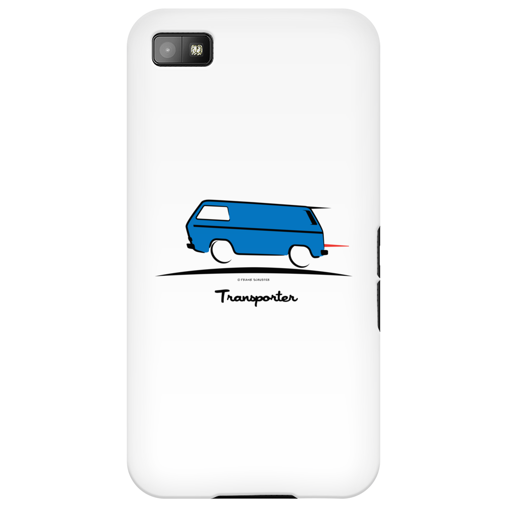 Speedy Vanagon Caravelle Transporter Combi Blue Phone Case