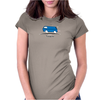 Speedy Vanagon Caravelle Transporter Combi Blue Womens Fitted T-Shirt