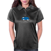 Speedy Vanagon Caravelle Transporter Combi Blue Womens Polo